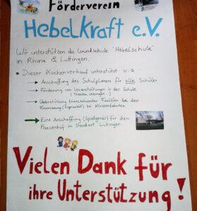 Förderverein Hebelschule Laufenburg Bild