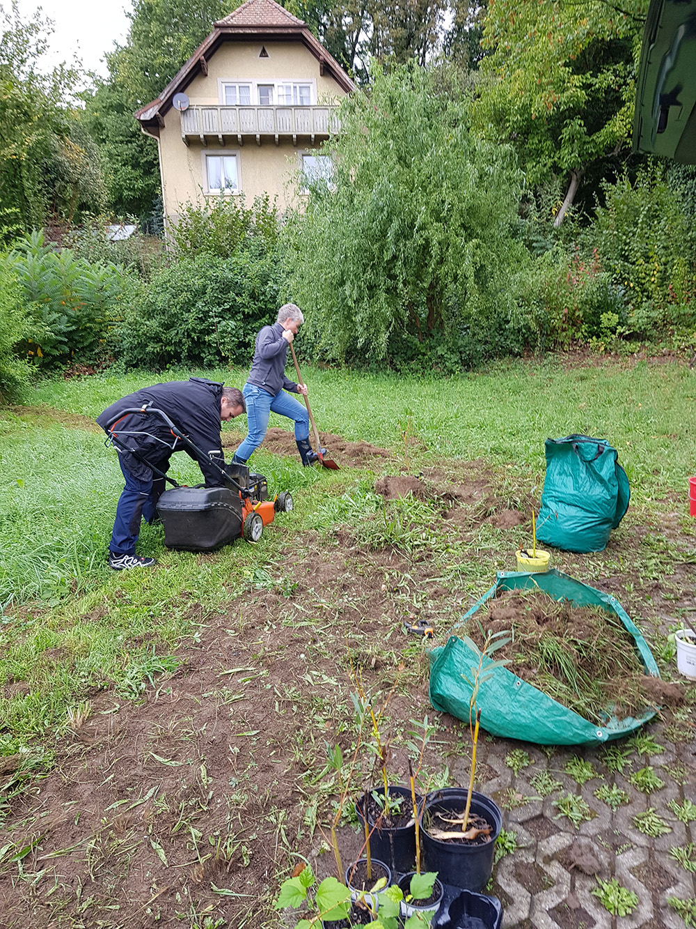 Gartenaktion Rhina
